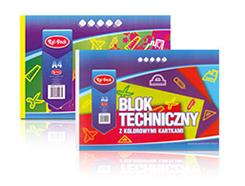 Kartony, bloki techniczne i rysunkowe